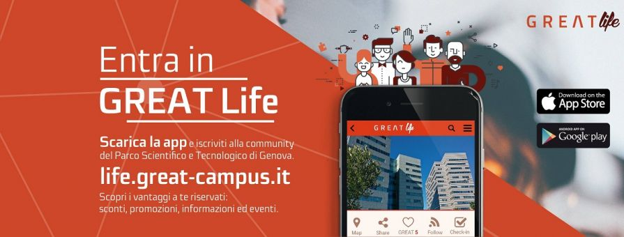 Great Life: la nuova App del Parco Scientifico e Tecnologico