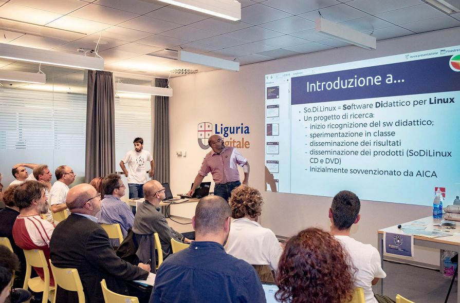 Successo del Linux Day Genova al Great Campus